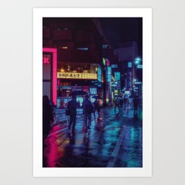 Tokyo Noire Art Print