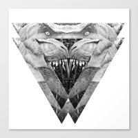 trex Canvas Prints featuring TREX by moln4rt