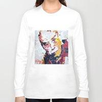 lama Long Sleeve T-shirts featuring Calai Lama by Phil Fung