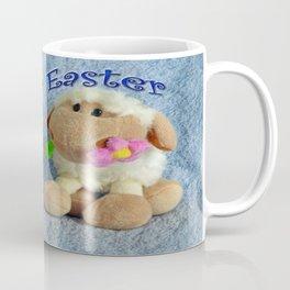 Happy Easter Lambs Coffee Mug