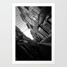 Cours Julien  Art Print