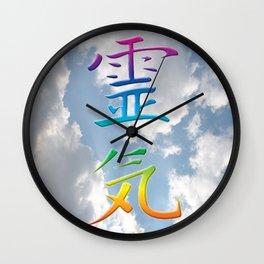 REiKi UP TO THE SKY Wall Clock