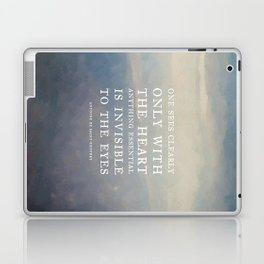 III. Anything essential is invisible to the eyes. Laptop & iPad Skin