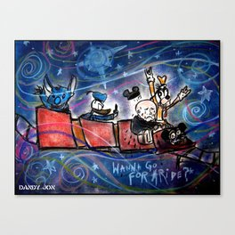 Oddity: Wanna Go For a Ride? Canvas Print