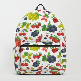 Colorful Berries Pattern Backpack