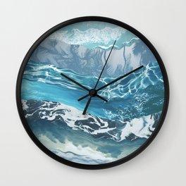 Sea abstract Wall Clock