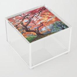 Portland Japanese Maple Tree Acrylic Box