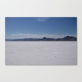 Salt Flats 2 Canvas Print