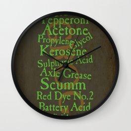 Grog recipe Wall Clock