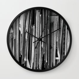 Forgotten Memories Wall Clock
