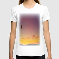 ballon T-shirts featuring Ballon Sunset by JDHicks