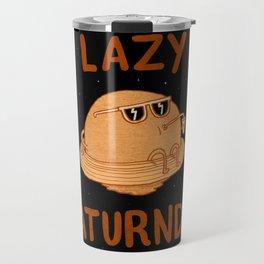 Lazy Saturnday Travel Mug