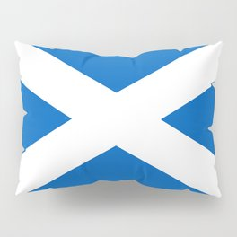 Flag of Scotland - Scottish flag Pillow Sham