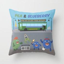 P&B Throw Pillow