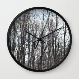 On a Cold Day Wall Clock