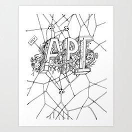 open api Art Print