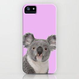Pretty Cute Koala iPhone Case