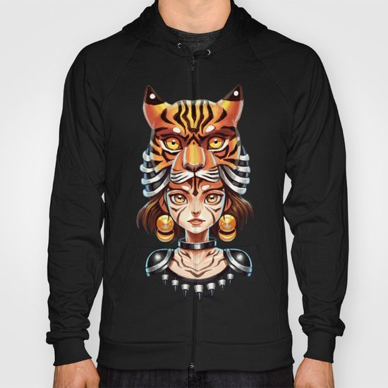 Tiger Tribe Hoody