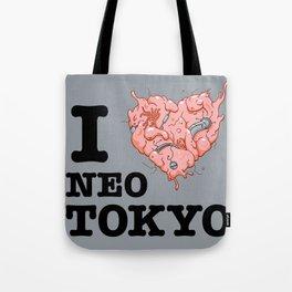 I Tetsuo Neo Tokyo Tote Bag