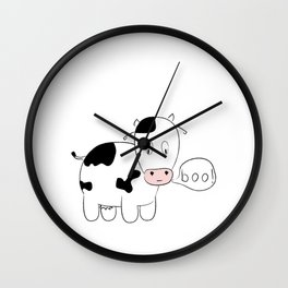 SOLD! Scary Cow - Inspired by a True Incident! Wall Clock