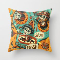 Day of the Dead - Mariachi Throw Pillow