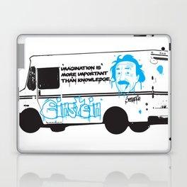 Albert Einstein - Streetwise Seniors Laptop & iPad Skin