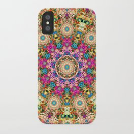 psychedelic lace iPhone Case