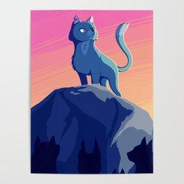 A Blue Leader Poster