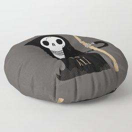 One Scythe Fits All Floor Pillow