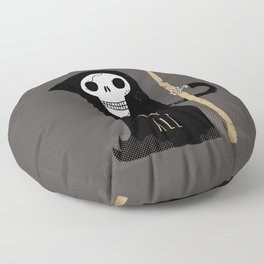 One Scythe Fits All Floor Pillow