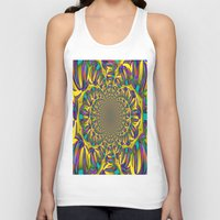 mirror Tank Tops featuring Mirror by LoRo  Art & Pictures
