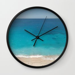 Tropical Holiday Wall Clock