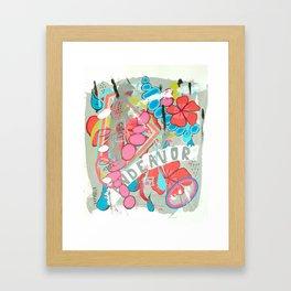 Endeavor Framed Art Print