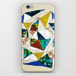 Geo Shapes no.1 iPhone Skin