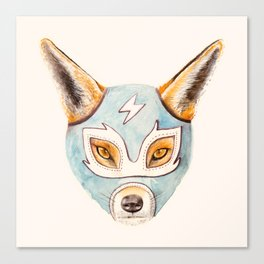 Andrew, the Fox Wrestler Canvas Print