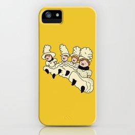 Piggy dancers iPhone Case