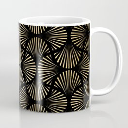 Beautiful Black and Gold Design Pattern Coffee Mug