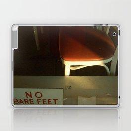 no bare feet Laptop & iPad Skin