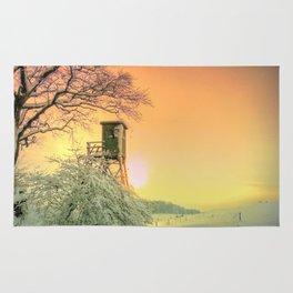 Winter romantic Rug