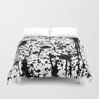 chaos Duvet Covers featuring Chaos by ZantosDesign