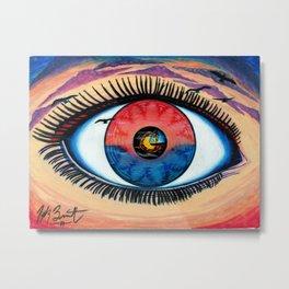 EyeSet Metal Print