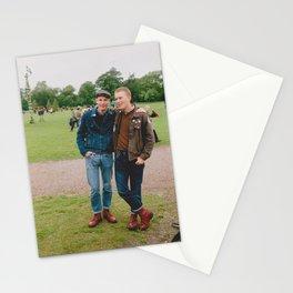Skinheads Christoffer & Knut 2003 Stationery Cards