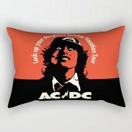Ac/Dc angus young Rectangular Pillow