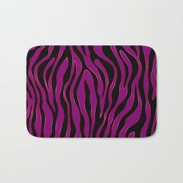 Zebra (Fuchsia) Bath Mat