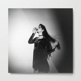 """Marigold"" Dark Fashion Holga Photograph Metal Print"