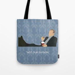 The Reichenbach Fall - Greg Lestrade Tote Bag