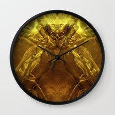 Cobra de cristal Wall Clock