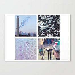 Squares #1: Berlin / Winter Canvas Print
