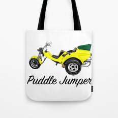 Puddle Jumper Tote Bag