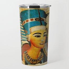 Egipt Art Travel Mug